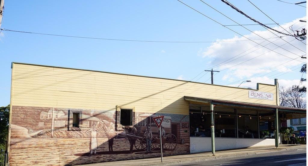 Bensons Cafe & Restaurant Melbourne image 1