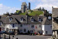 Restaurant The Greyhound Inn in Corfe Castle, Wareham