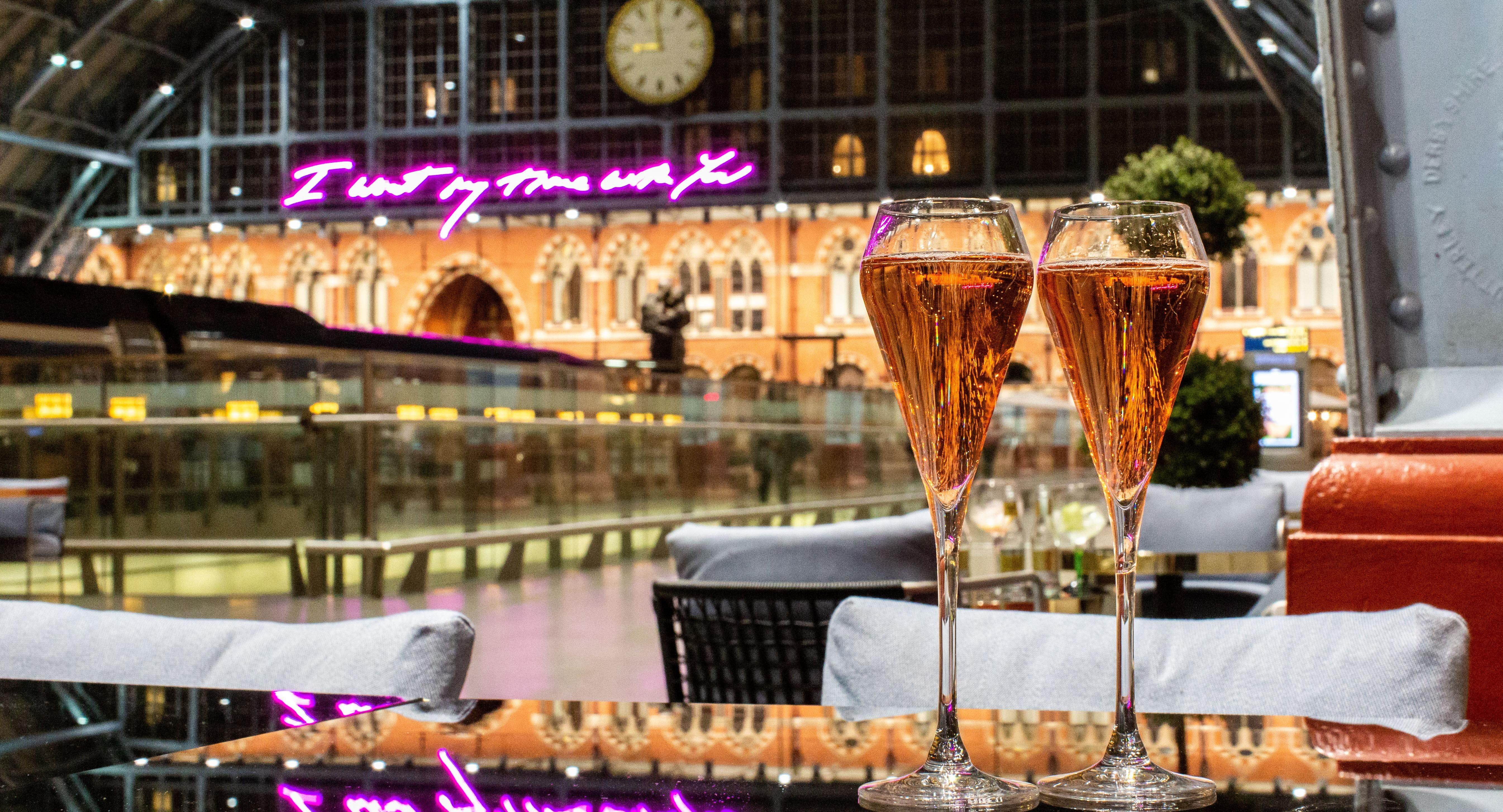 St Pancras Brasserie and Champagne Bar by Searcys London image 1