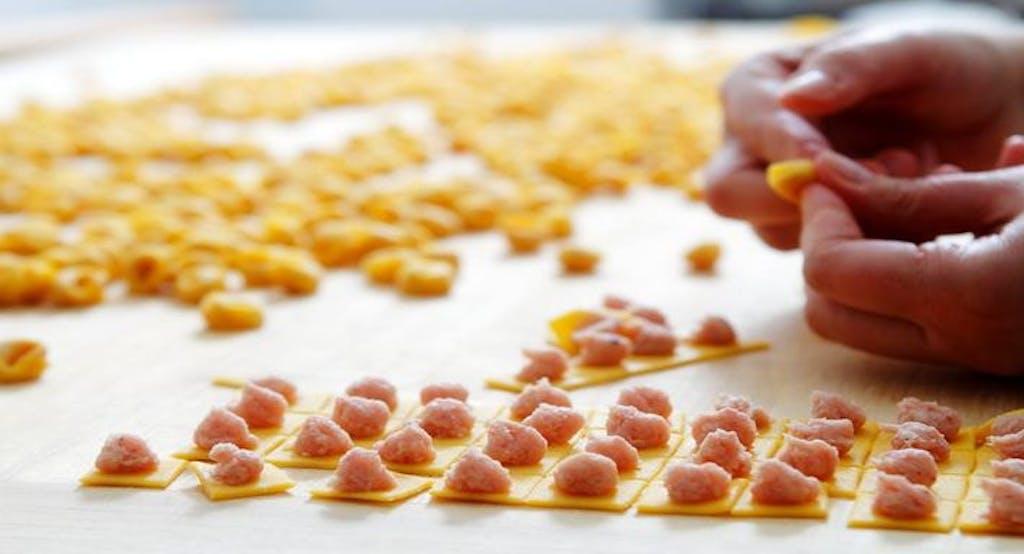 Tortellini fatti a mano al ristorante Da Sandro al Navile - Fonte: Quandoo
