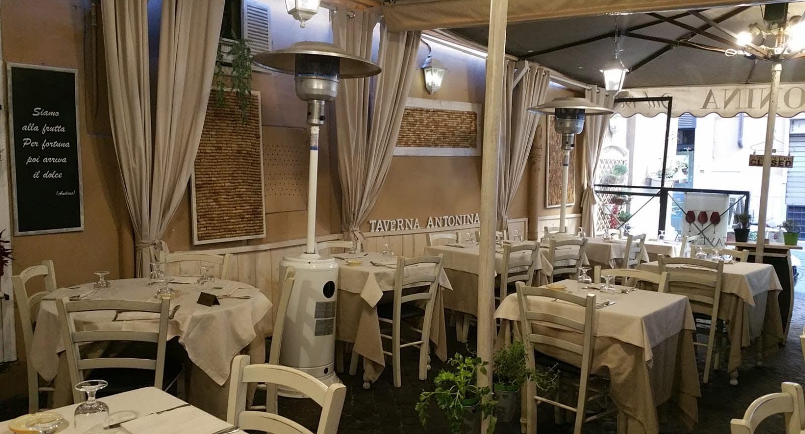 Taverna Antonina dal 1939 Rom image 3