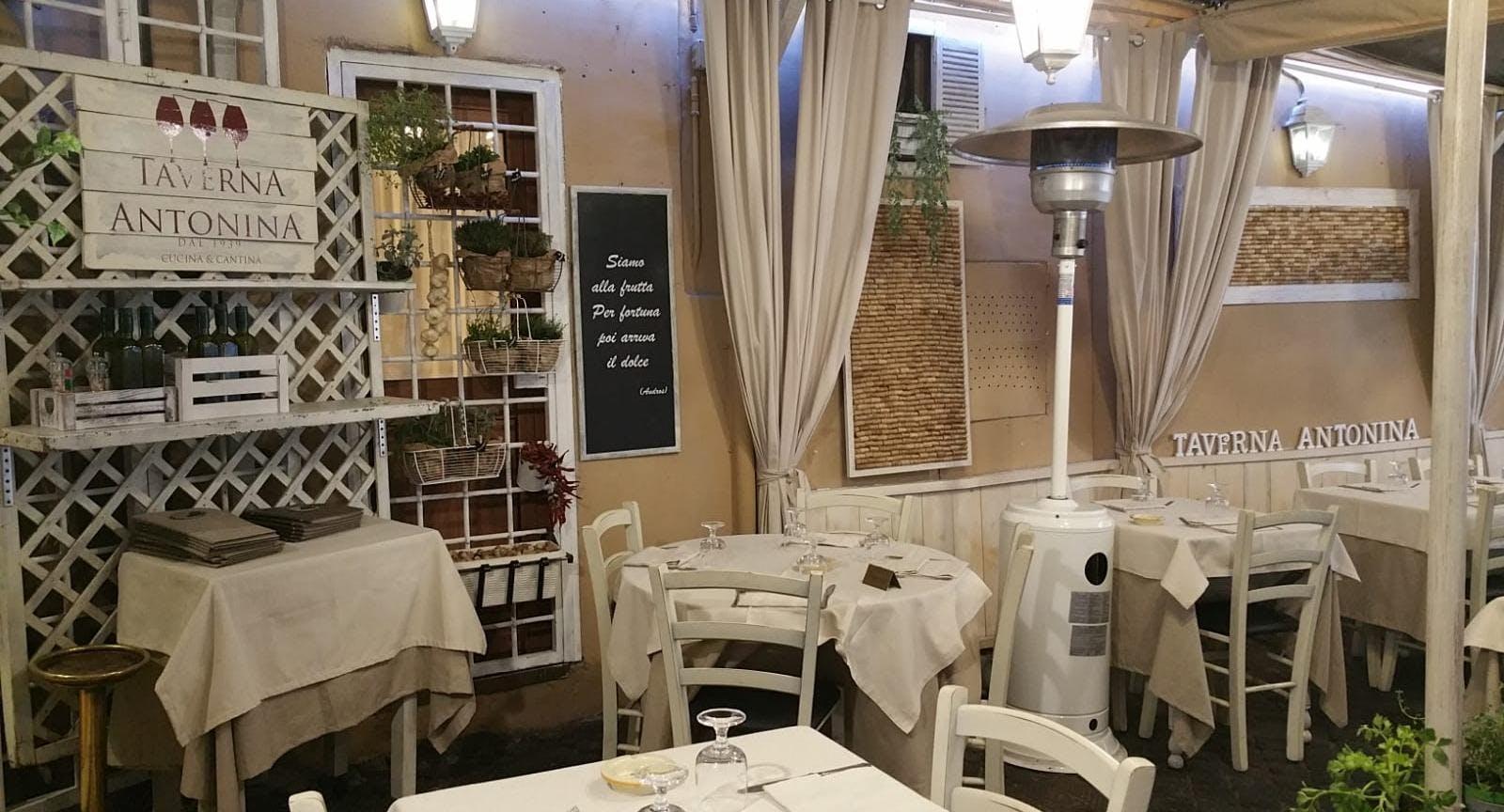 Taverna Antonina dal 1939 Rom image 2