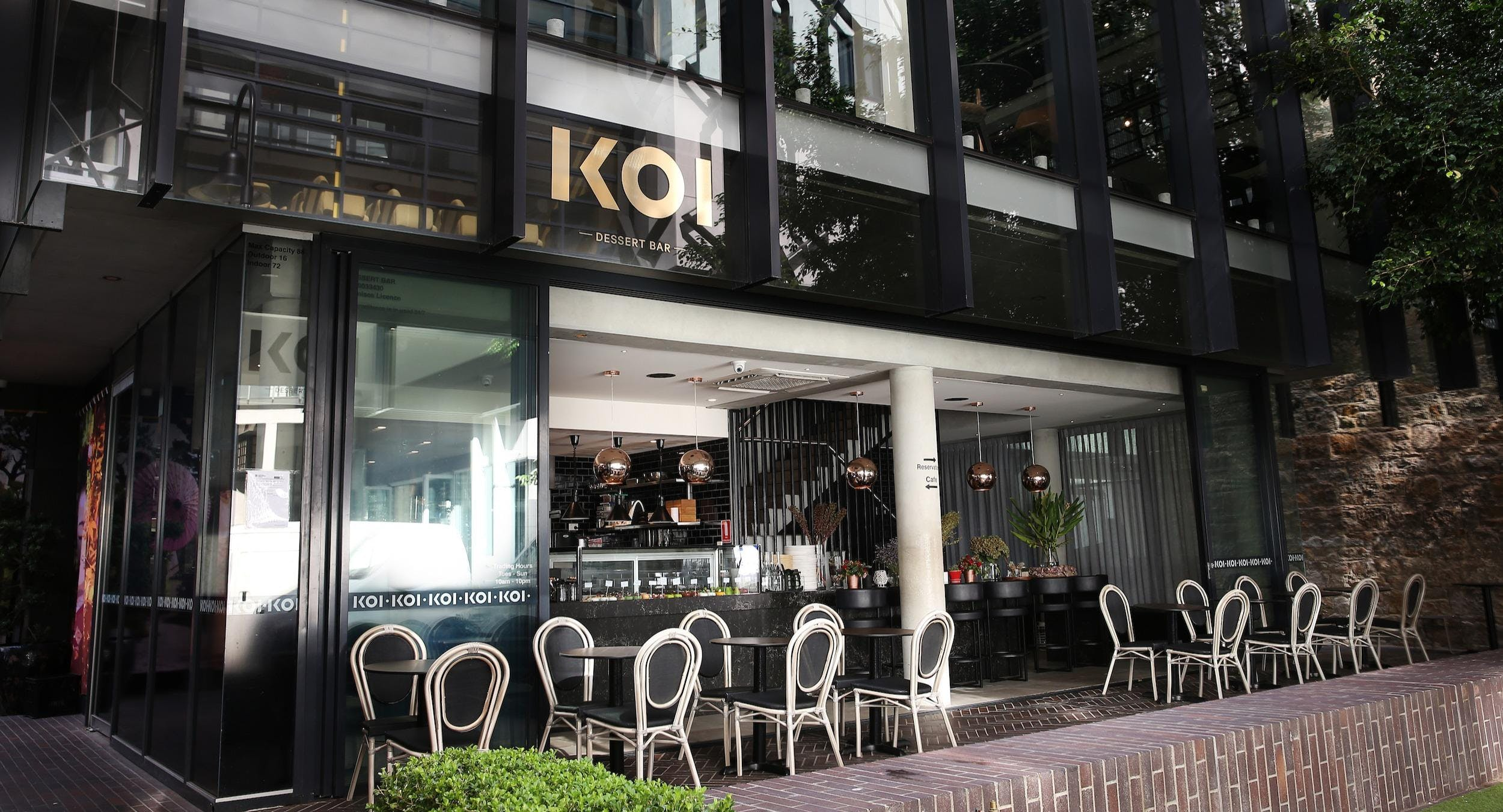 KOI Dessert Bar & Dining Sydney image 3