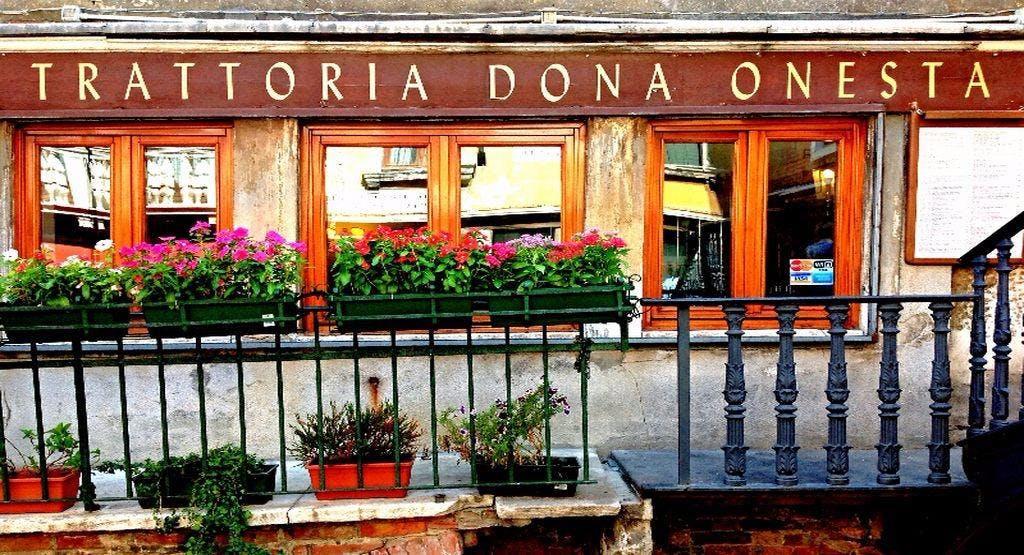 Trattoria Dona Onesta Venezia image 1