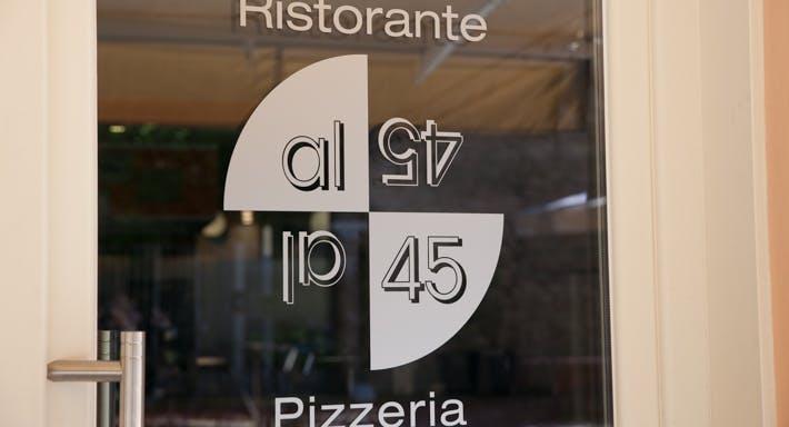 Ristorante Pizzeria Al 45