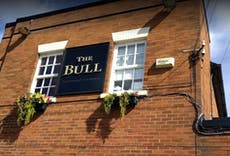 Restaurant Bull Hotel Poulton Le Fylde in Wyre, Poulton-Le-Fylde