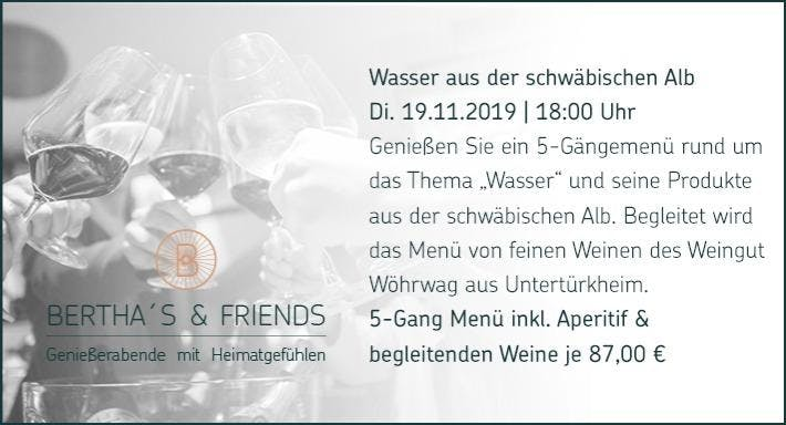 Bertha's Gastronomie im Mercedes Benz Museum