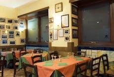 Restaurant Trattoria Castel Nuovo in Porto, Naples