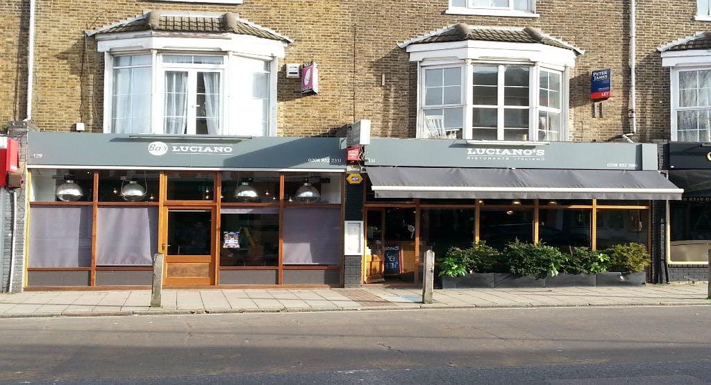 Luciano's Ristorante London image 1