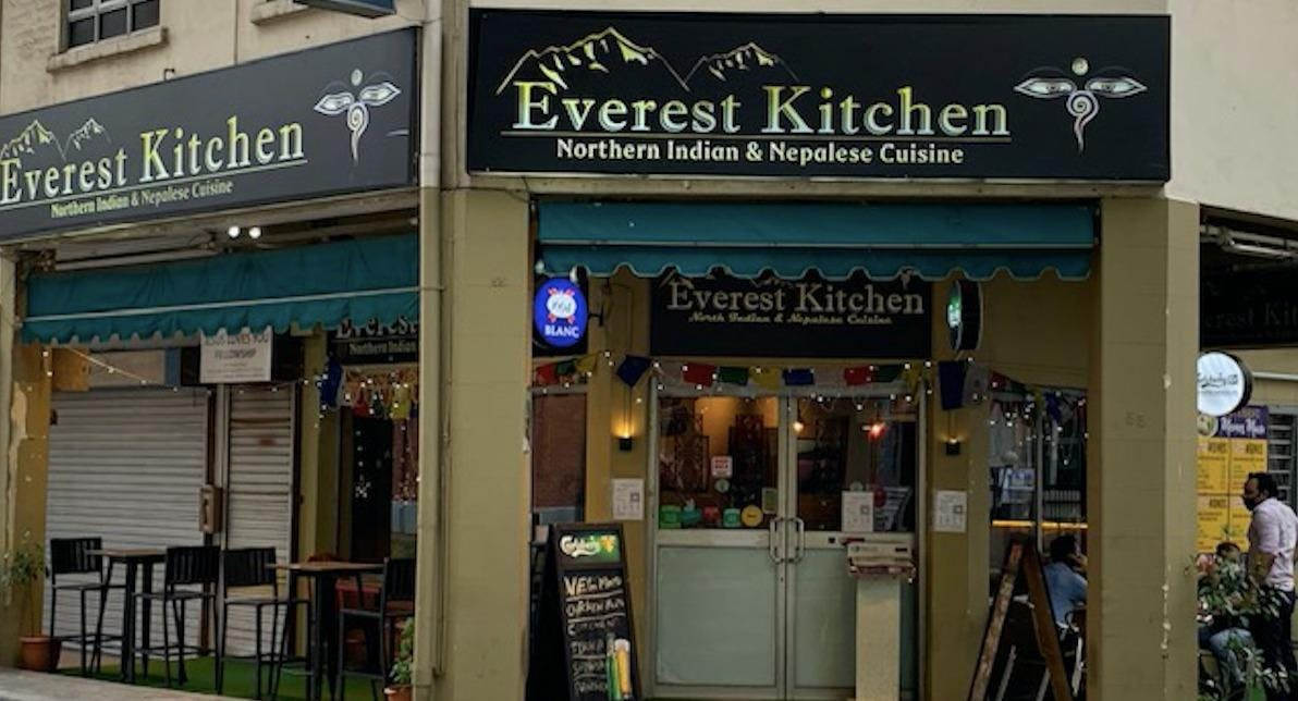 View The Menu At Everest Kitchen Singapore