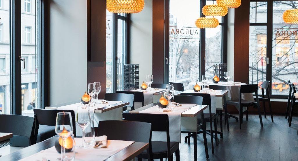 Aurora – amaze me. BAHNHOFSTRASSE I Restaurant & Bar Zürich image 1