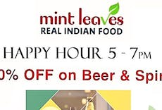 Restaurant Mint Leaves-Real Indian Food in New Eltham, London