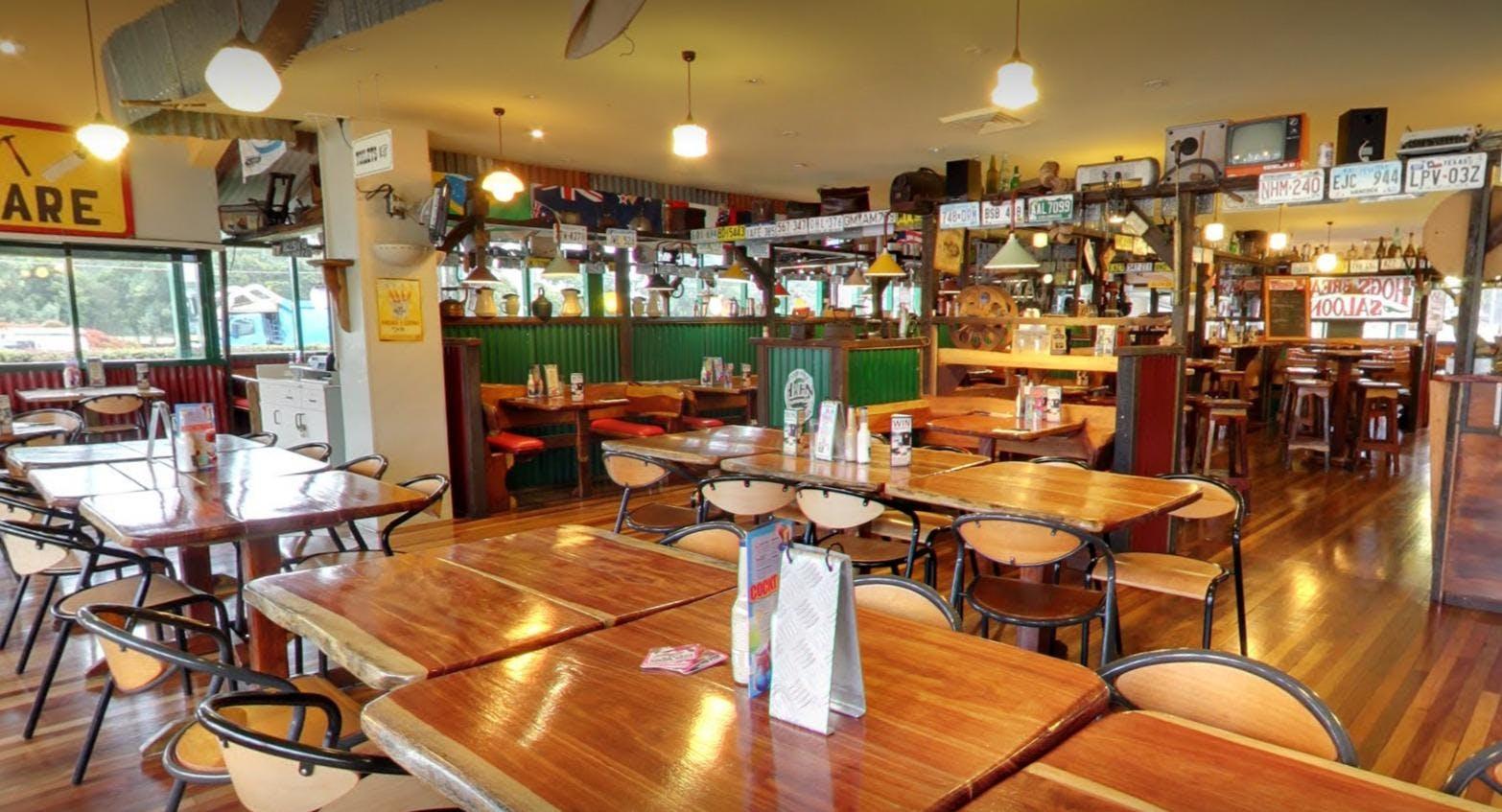 Hog's Australia's Steakhouse - St Marys