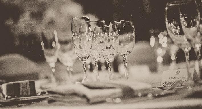 Wine and Mousaka
