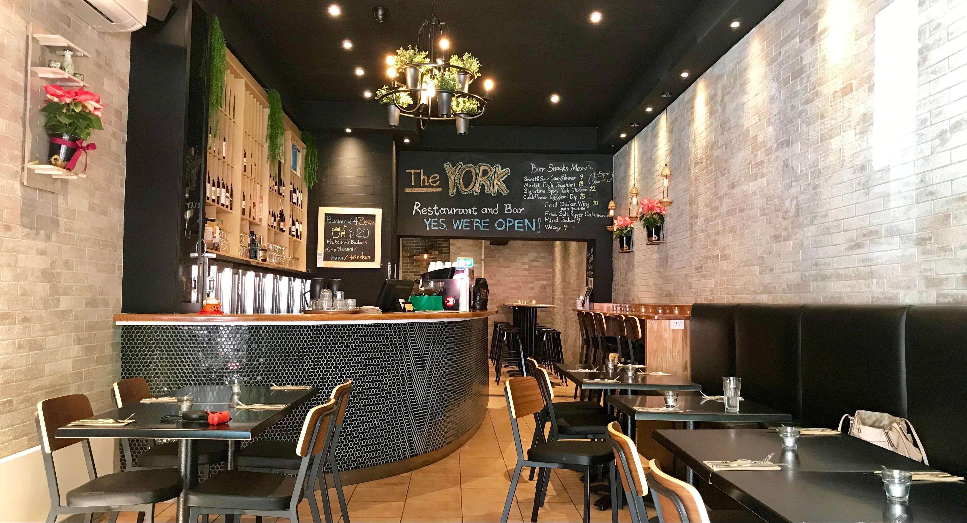 The YORK Bar & Restaurant Melbourne image 1