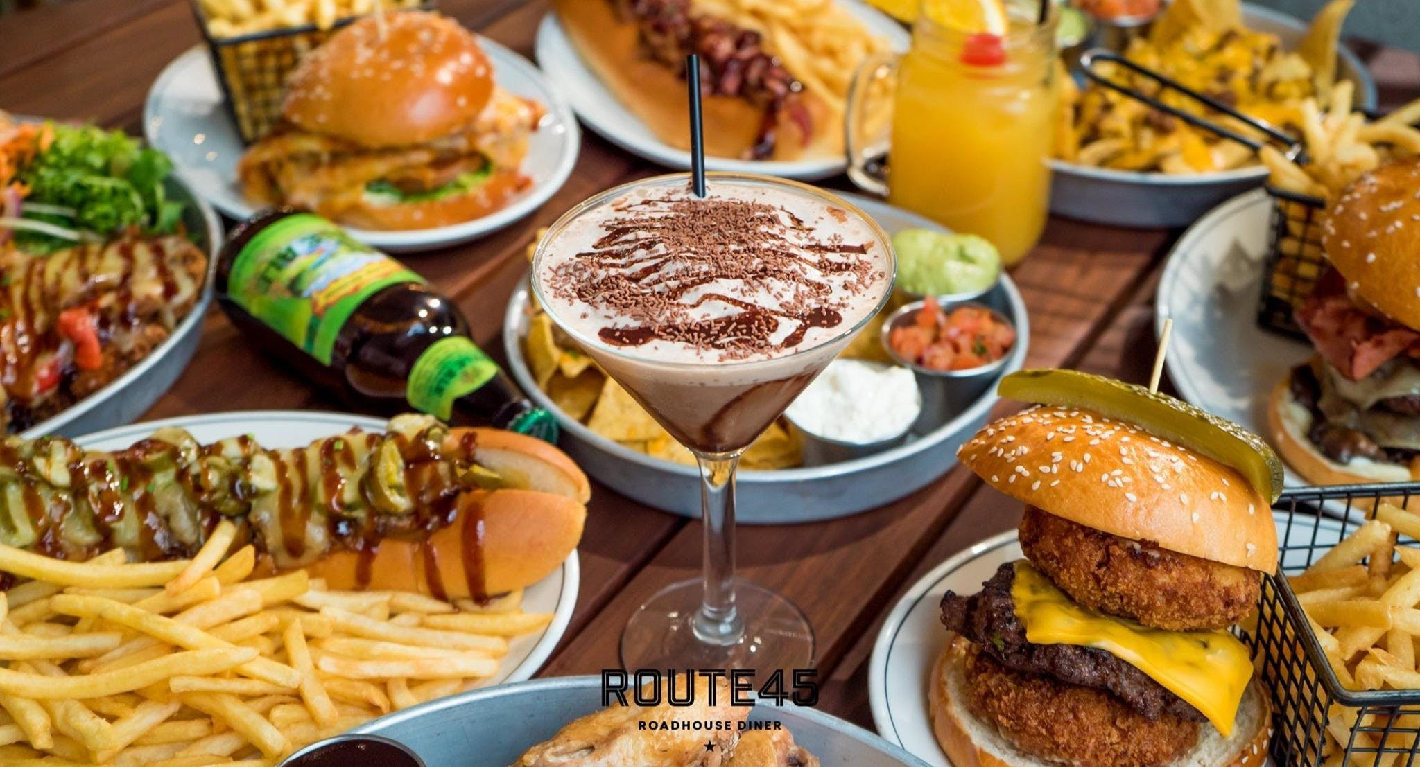 Route 45 Roadhouse Diner - Forest Hill