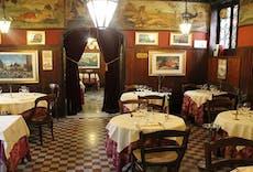 Restaurant Antica Trattoria Poste Vecie in San Polo, Venice