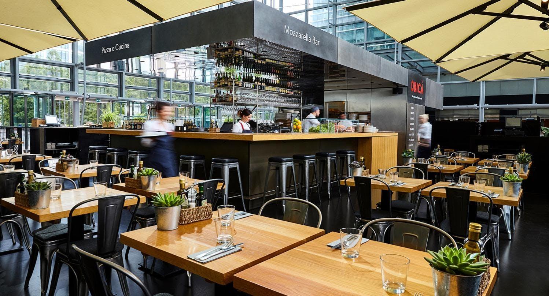 Obica Mozzarella Bar - Canary Wharf