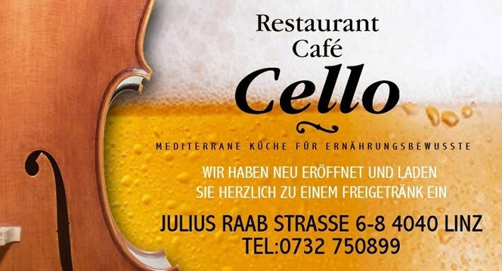 Restaurant Café Cello