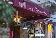 Restaurant Cafe 40 in Akaretler, Istanbul