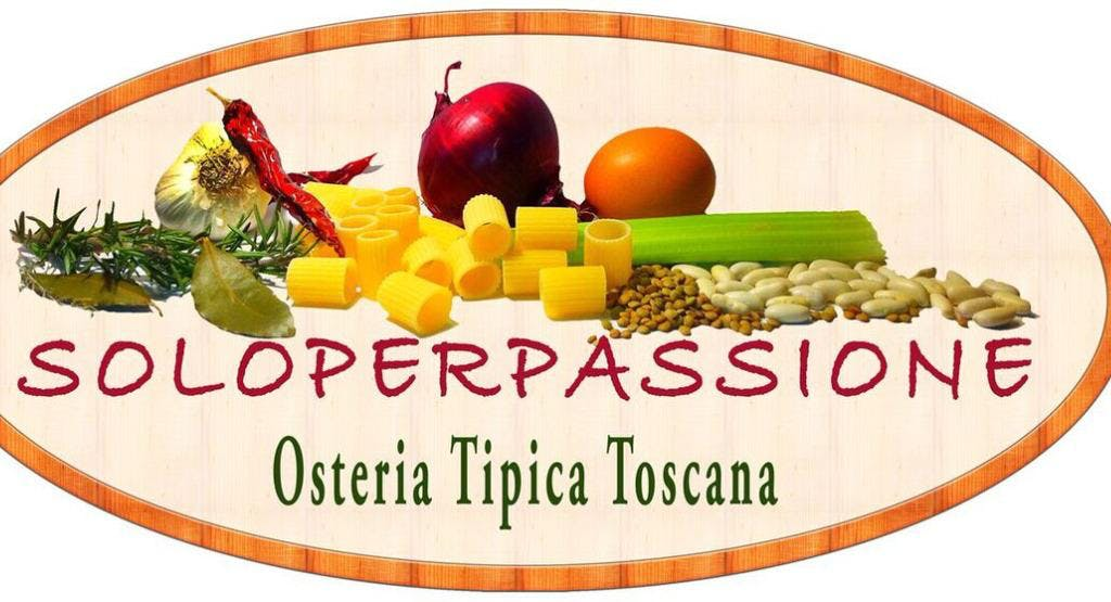 Soloperpassione Osteria Tipica Toscana
