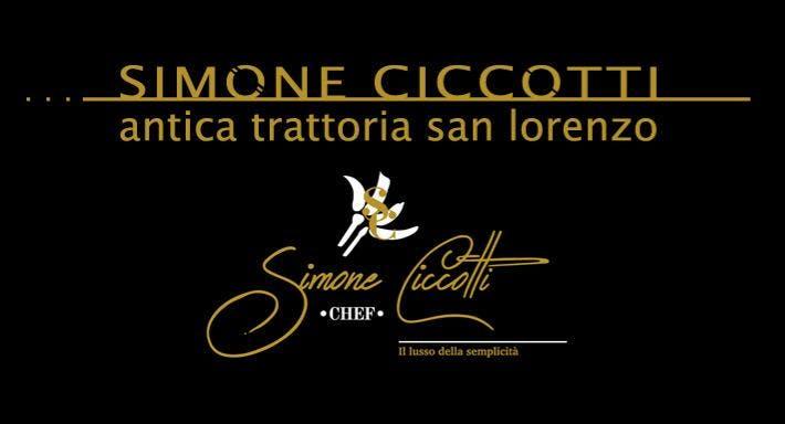 Antica Trattoria San Lorenzo Simone Ciccotti