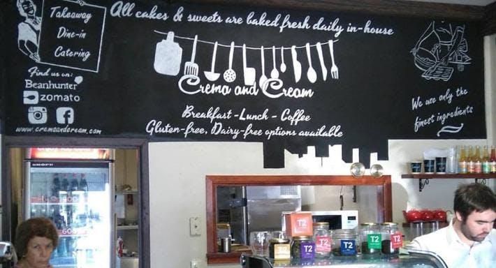 Crema and Cream