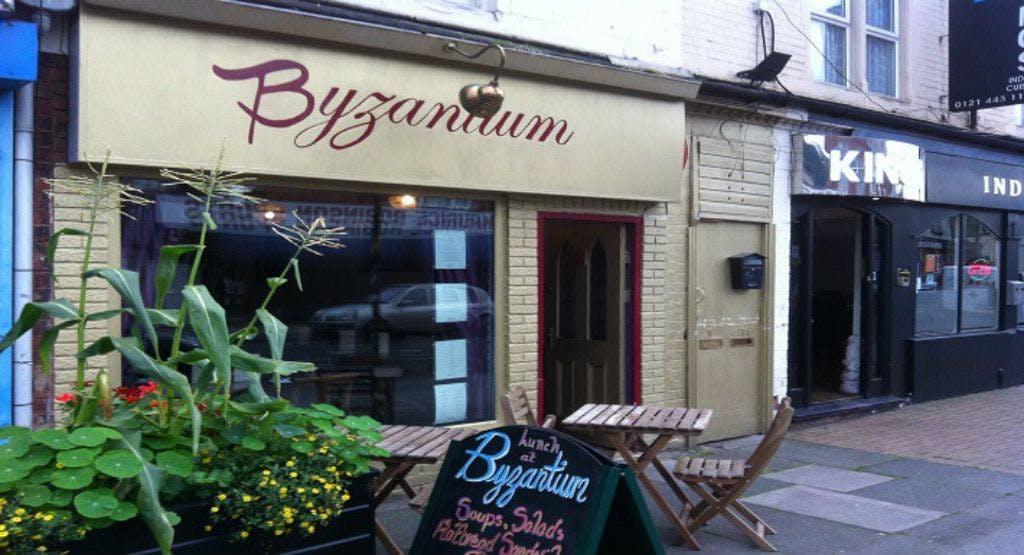 Byzantium Restaurant Birmingham