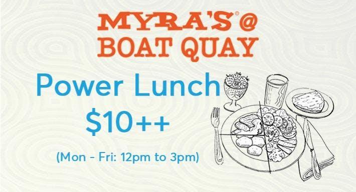 Myra's @ Boat Quay