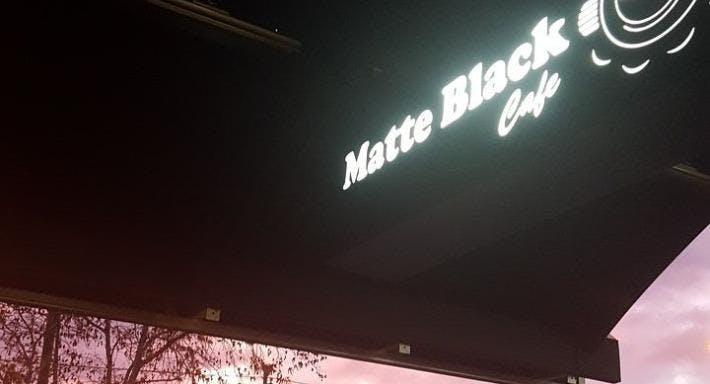 Matte Black Cafe