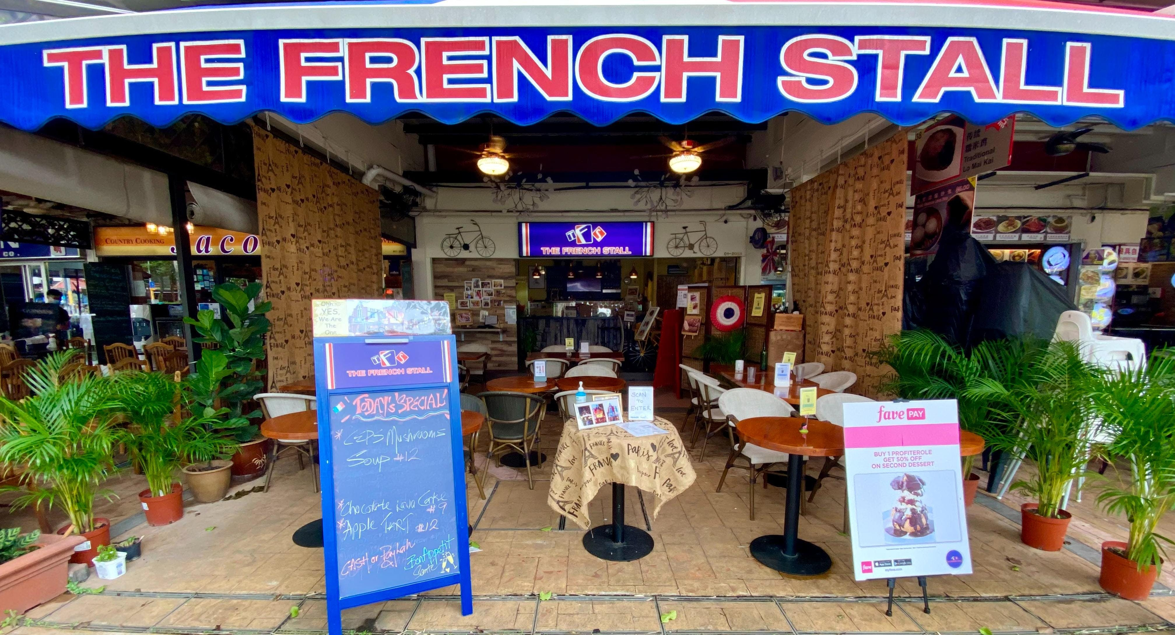 Photo of restaurant The French Stall in Changi, Singapore