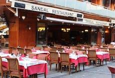 Restaurant Sandal Restaurant in Kumkapı, Istanbul