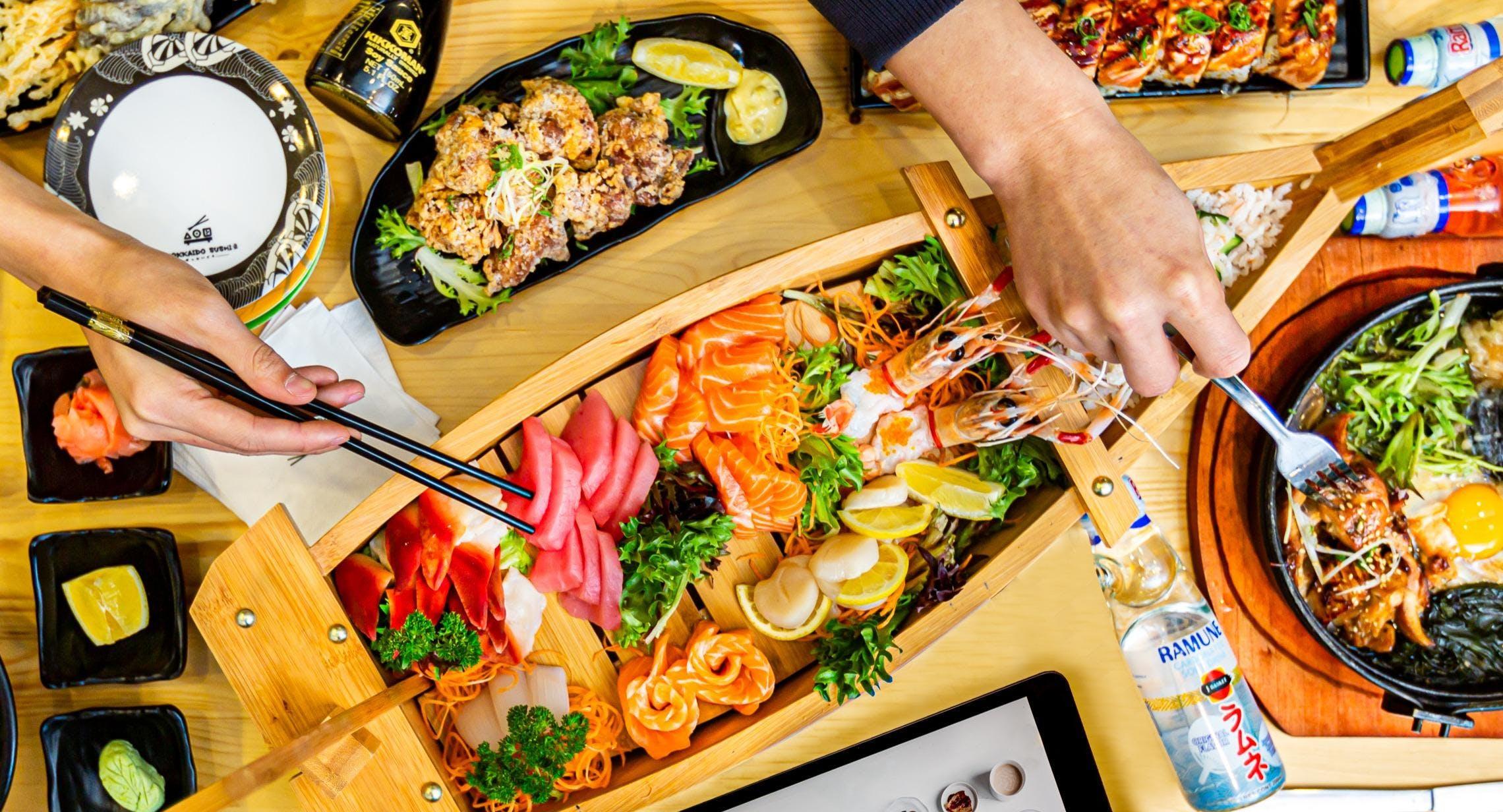 Photo of restaurant Hokkaido Sushi - Eastlands in Rosny Park, Hobart