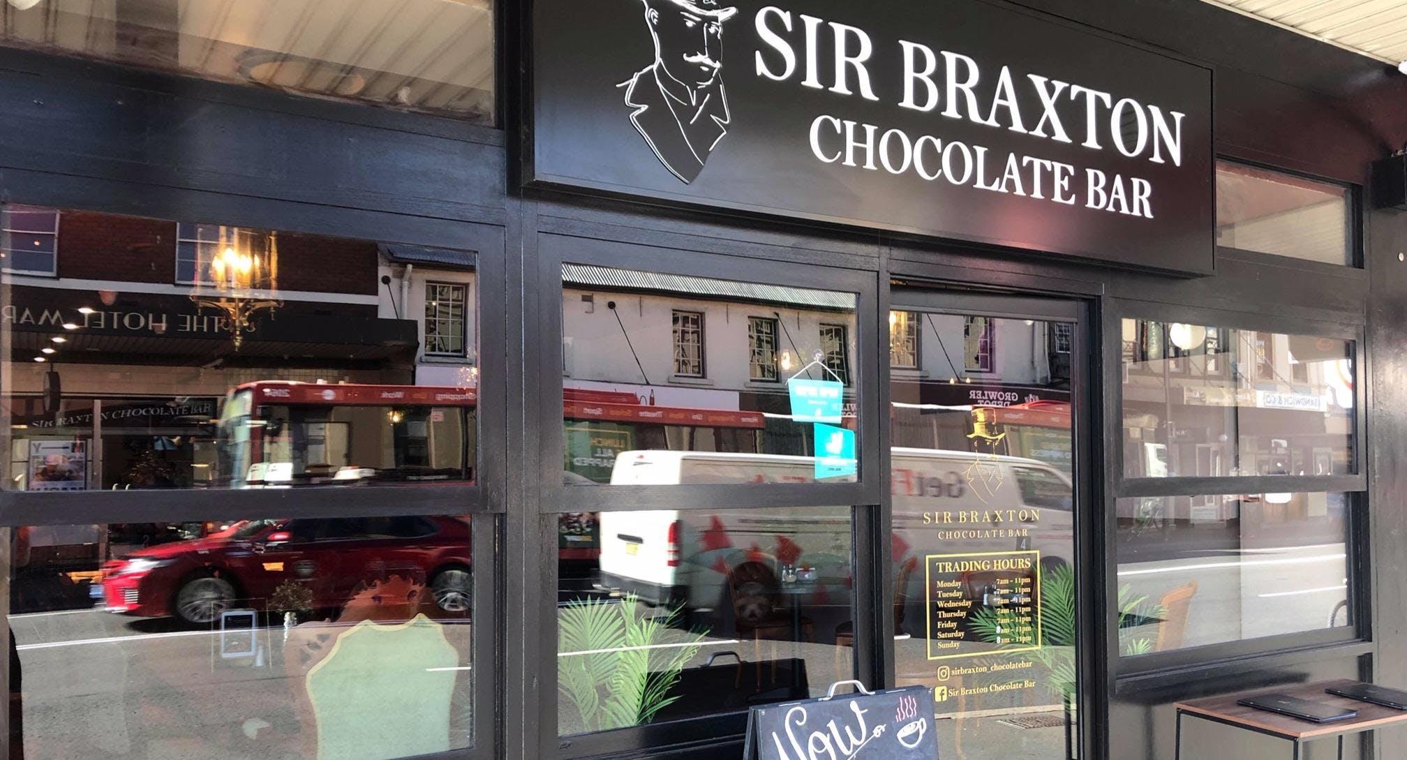 Sir Braxton Chocolate Bar Newtown