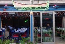Restaurant Mykonos Balık in Caddebostan, Istanbul