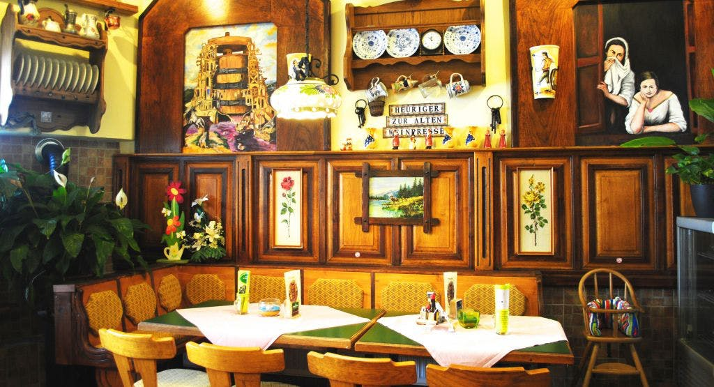 Heuriger zur alten Weinpresse KG Wien image 1