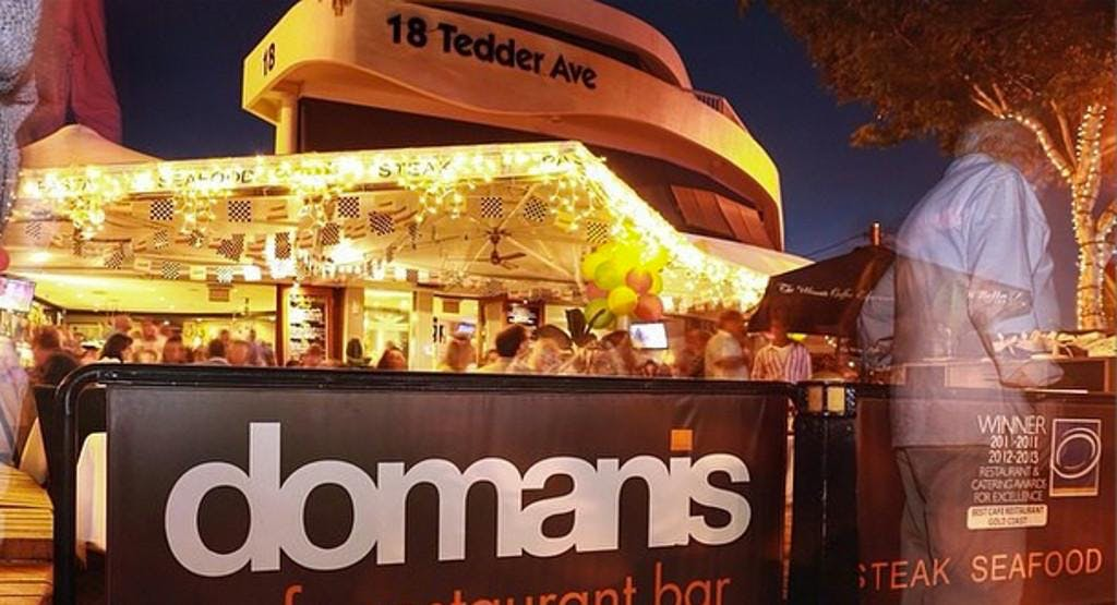 Domanis Cafe Restaurant & Bar Gold Coast image 1